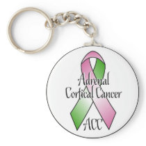 Adrenal Cortical Cancer Keychain