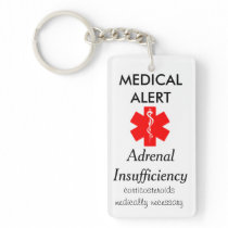 adrenal insufficiency key chain