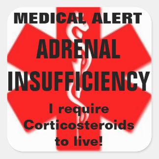 ADRENAL insufficiency stickers