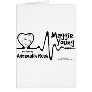 Adrenalin Rush Merch Card