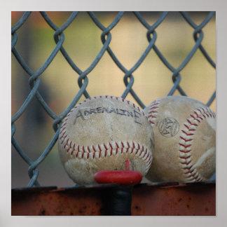 Adrenalina del béisbol impresiones