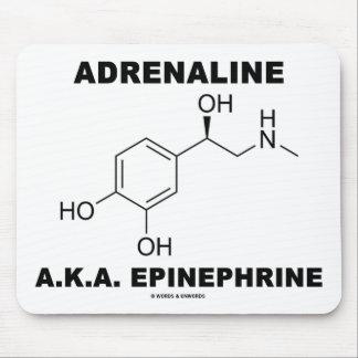 Adrenaline A.K.A. Epinephrine (Chemistry) Mouse Pad