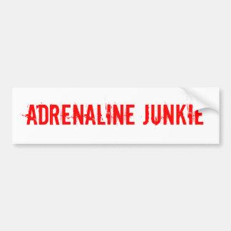 Adrenaline Junkie sticker for extreme sports Car Bumper Sticker