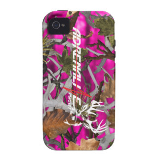 Adrenaline Pursuit Camouflage Pink Deer Case Case For The iPhone 4