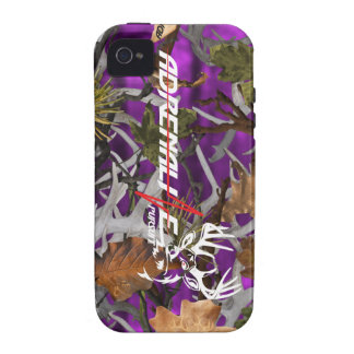 Adrenaline Pursuit Camouflage Purple Deer Case iPhone 4 Cover