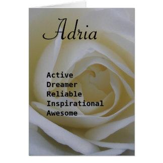 Adria Card