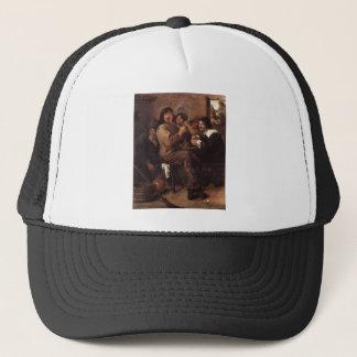 Adriaen Brouwer Smoking Men Trucker Hat