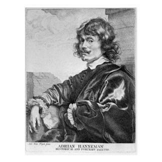 Adriaen Hanneman Postcard