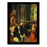 Adriaen Isenbrandt The Mass Of St Gregory Postcards