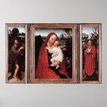 Adriaen Isenbrandt Triptych Poster