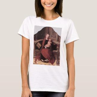Adriaen Isenbrandt Virgin and Child Enthroned T-Shirt