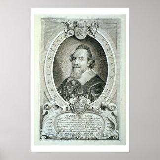Adriaen Pauw (1585-1653) de 'DES Homme de los retr Póster
