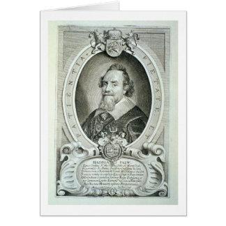 Adriaen Pauw (1585-1653) from 'Portraits des Homme Card