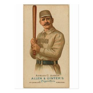 Adrian 1887 C. Anson Postales