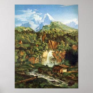 Adrian Ludwig Richter - The Watzmann Posters