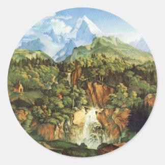 Adrian Ludwig Richter - The Watzmann Stickers