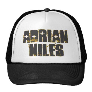 Adrian Niles retro ball cap. Trucker Hat