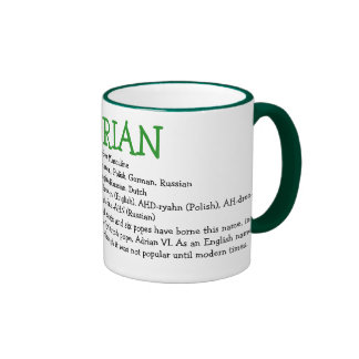 Adrian Ringer Mug