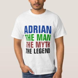 Adrian the man, the myth, the legend T-Shirt