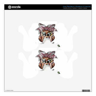 Adriana's Owl by Cheri Lyn Shull PS3 Controller Decal