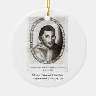 Adriano Banchieri 1613 Ceramic Ornament