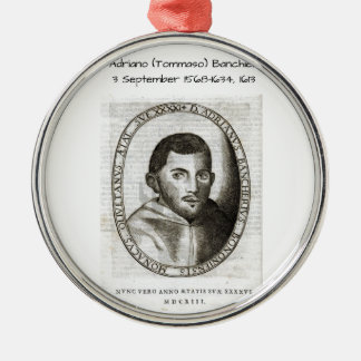 Adriano Banchieri 1613 Metal Ornament