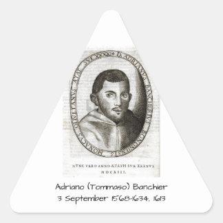 Adriano Banchieri 1613 Triangle Sticker