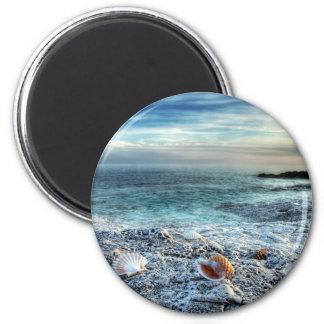 Adriatic beach magnet