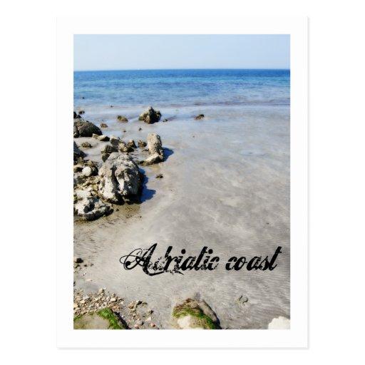 Adriatic coast post cards