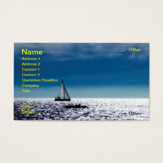 Adriatic noon business card