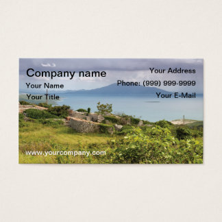 Adriatic view business card