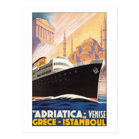 Adriatica Venise Grece Istamboul Postcard