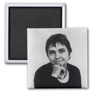 Adrienne Cecile Rich , 1970s 2 Inch Square Magnet