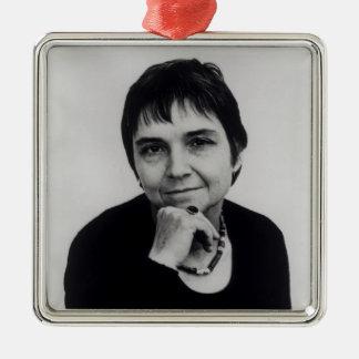 Adrienne Cecile Rich , 1970s Metal Ornament