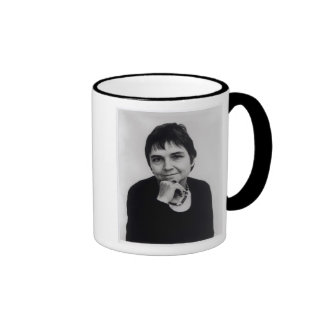 Adrienne Cecile Rich , 1970s Ringer Coffee Mug