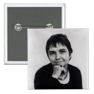 Adrienne Cecile Rich , 1970s Pinback Button