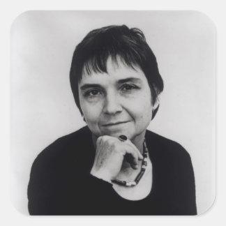 Adrienne Cecile Rich , 1970s Square Sticker
