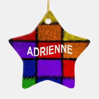ADRIENNE ( female names ) Ceramic Ornament
