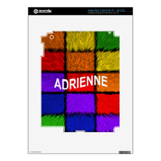 ADRIENNE ( female names ) Decal For iPad 3