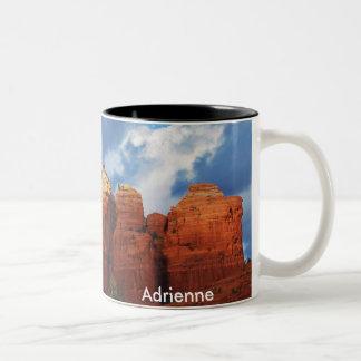 Adrienne on Coffee Pot Rock Mug