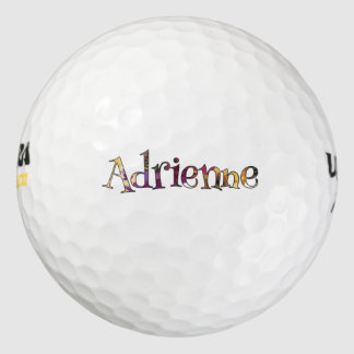 Adrienne's Colorful Fun 12-pack of Golf Balls