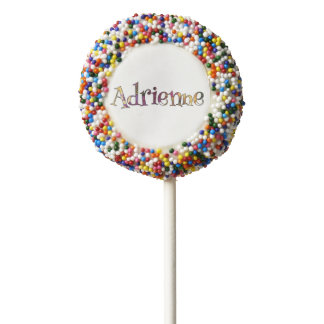 Adrienne's Colorful Fun Chocolate Covered Oreo Pop