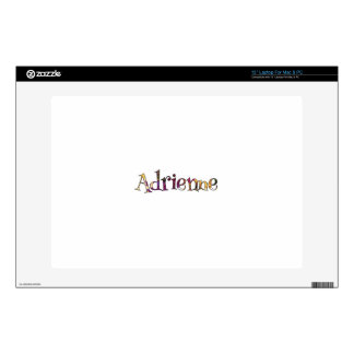 """Adrienne's Colorful Fun Decal For 13"""" Laptop"""