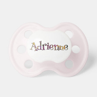 Adrienne's Colorful Fun Pacifier