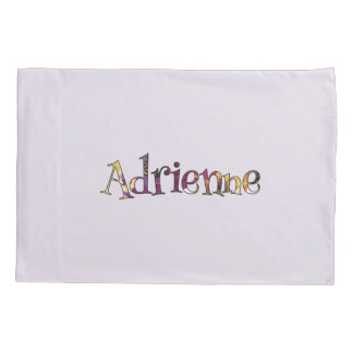 Adrienne's Colorful Fun Sleepover Pillow Case