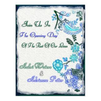Adrienne's  Final Invite Postcard