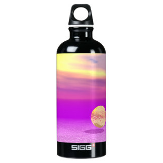 Adrift, Abstract Gold Violet Ocean SIGG Traveler 0.6L Water Bottle