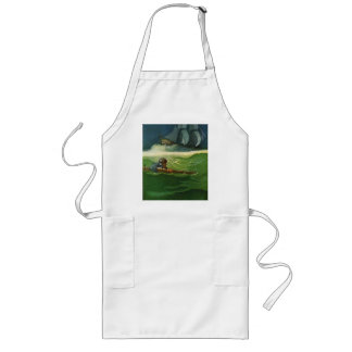 Adrift at Sea Long Apron