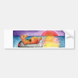 Adrift Bumper Sticker