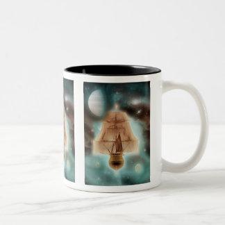 Adrift in space - coffee mugs & cups
